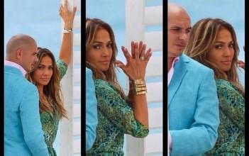 Tiroteo interrumpe grabación de video de Jennifer Lopez y Pitbull en Florida